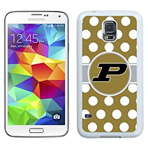 Beautiful And Popular Designed With Ncaa Big Ten Conference Football Purdue Boilermakers 5 Protective Cell Phone Hardshell Cover Case For Samsung Galaxy S5 I9600 G900a G900v G900p G900t G900w Phone Case White