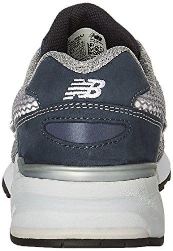 Calzado deportivo para hombre, color Azul , marca NEW BALANCE, modelo Calzado Deportivo Para Hombre NEW BALANCE MRL999 AJ Azul Gris