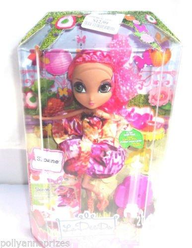 La Dee Da Girls Sloane Garden Tea Party Hot Pink Braided Hair by La Dee Da