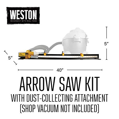 52-0601-W Weston Arrow Saw 8000 RPM with Dust Collector