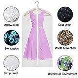 Univivi Hanging Garment Bag 43 inch Suit Bag for