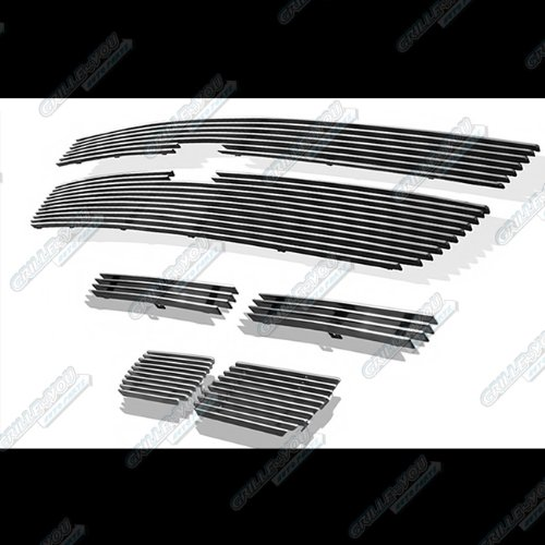 06 Chevy Silverado 1500/05-06 2500HD/3500/07 Classic Billet Grille Grill Combo # C67885A hot sale
