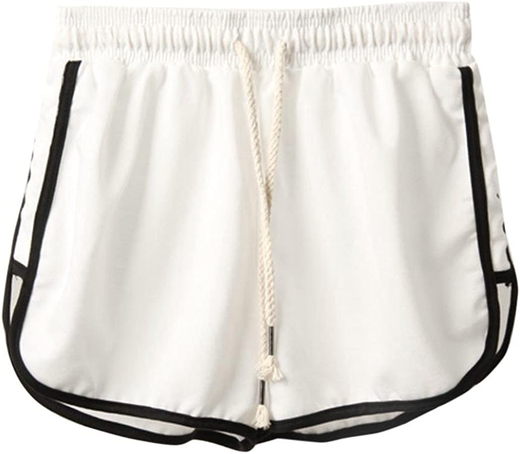 ESAILQ Shorts Women Summer Sport Beach Short Pants Fashion Sports Yoga Workout