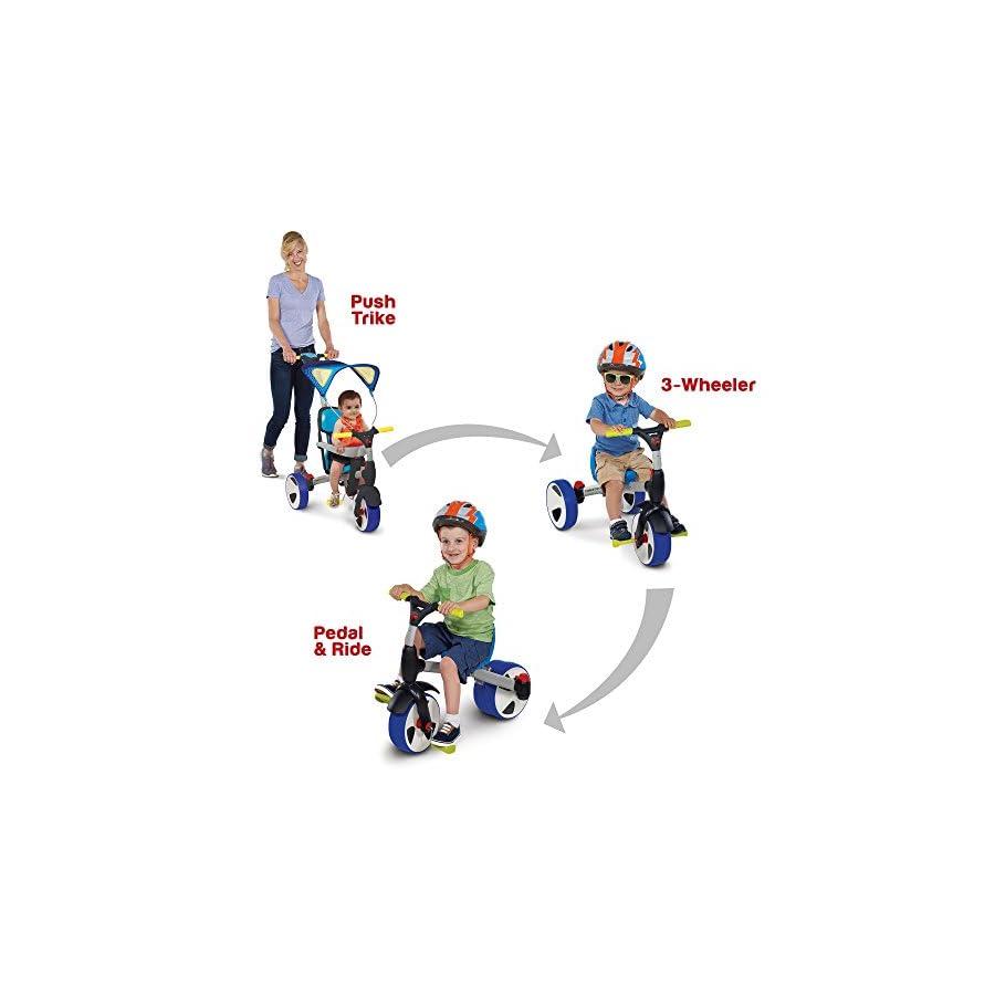Rollplay 4 in 1 Convertible Trike Bike