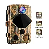 Wansview Trail Hunting Camera 16MP 1080P HD, with 0.2S Trigger Time Motion Detection