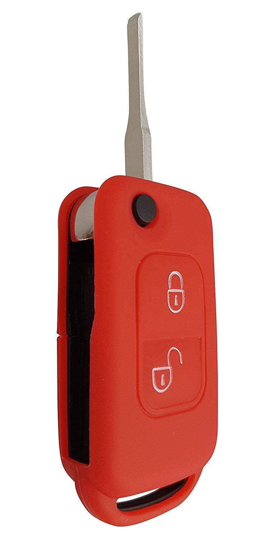 CK Mercedes Housse de Voiture Cl/é Key Cover Case Etui Silicone pour A-B de c G V de Classe S /électronique AMG CLA CLS