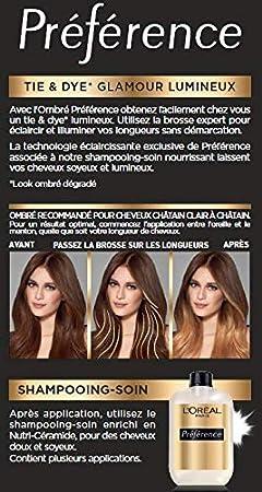 LOréal Paris Préférence les Ombrés N°1 Kit Coloration Tie ...