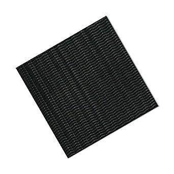 TapeCase 6-6-6-SJ3542 3M SJ3542 Dual Lock Reclosable Fastener 6 Length Square Pack of 6 6 Wide 6 Length 6 Wide Black