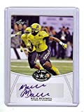 MALIK MCDOWELL 2014 LEAF 1ST EVER PRINTED U.S. ARMY HIGH SCHOOL ALL-AMERICAN CERTIFIED AUTOGRAPHED ROOKIE CARD! SEATTLE SEAHAWKS!