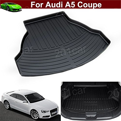 Hot Sale 1pcs Leather Car Boot Liner Rear Trunk Pretect Mat Trunk (Audi A5 Coupe)