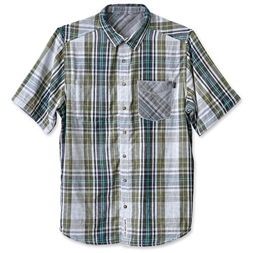 KAVU Men's Work It Button Down Shirts, Spring Valley, XX-Large