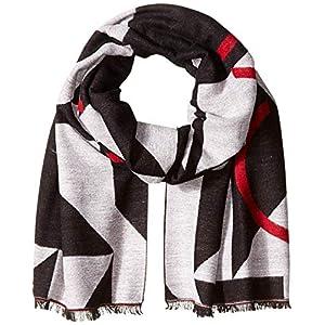 Calvin Klein Women's Geo Logo Blanket Scarf