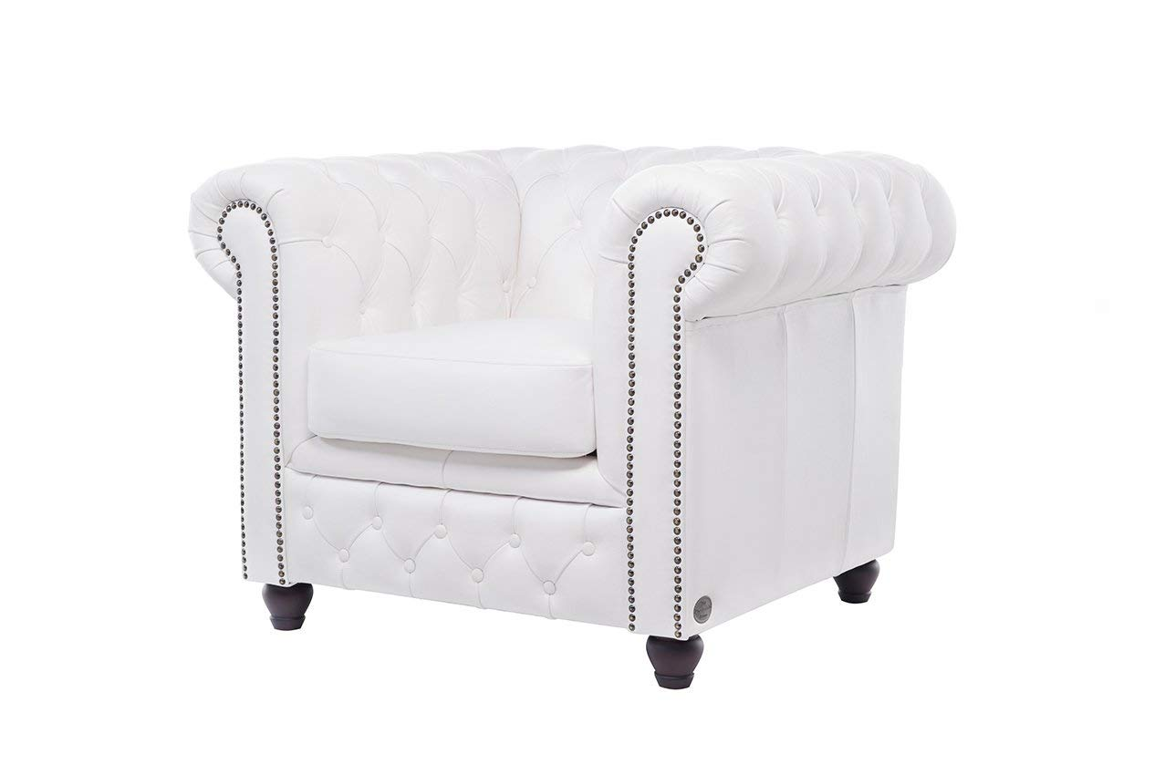 The Chesterfield Brand - Sillón Chester Brighton Blanco ...