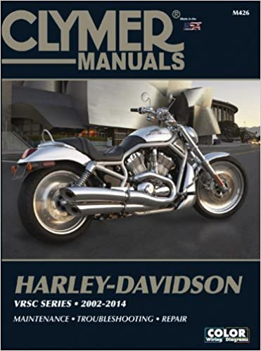 Clymer Harley Davidson Vrsc Series 2002 2007 Clymer Color Wiring Diagrams Amazon Co Uk Ed Scott 9781599691893 Books