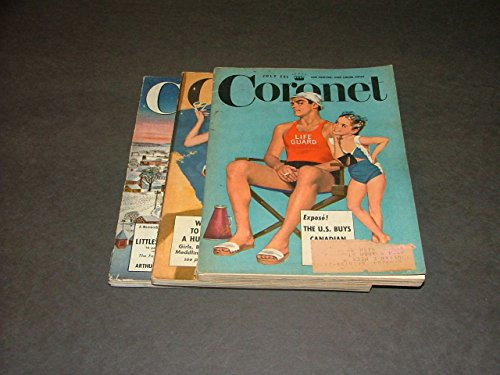 3 Iss Coronet Jul-Aug Dec, 1949 U.S. Buys Canada, Finding A Husband, - Canada Buy Glasses