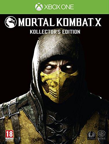Mortal Kombat X Kollector's Edition (Xbox One) (UK Import Region Free) (Kombat Import Edition X Mortal)