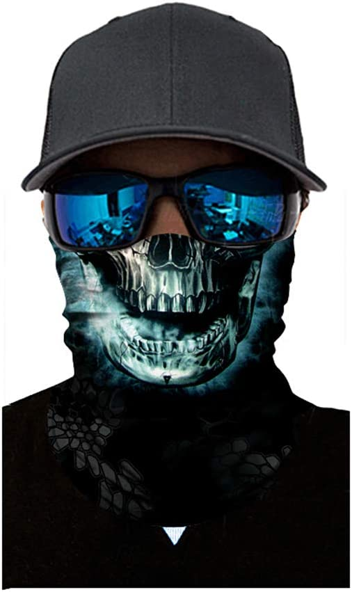 Carrfan Multifunktionstuch Rohr Kopfbedeckungen Bandana Schal Elastische Halst/ücher f/ür Yoga Wandern Reiten Motorradfahren