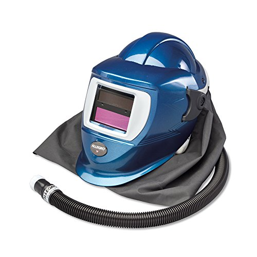 Allegro Industries 9904-W Replacement Deluxe SAR Shield and Welding Helmet with No Flow Valve, ADF Lens, Standard by Allegro Industries B012D8LVLS