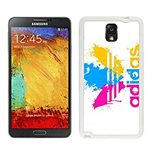 Fahionable Custom Designed Samsung Galaxy Note 3 N900A N900V N900P N900T Cover Case With Adidas 19 White Phone Case