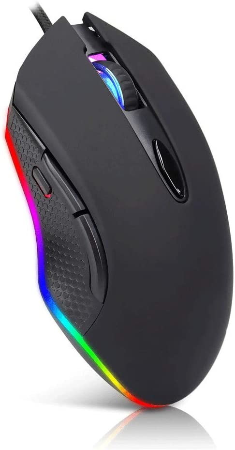 TRDyj Mouse Gaming Mouse Light Wired Mouse Esports Adjustable Wired Mouse Game Office Home