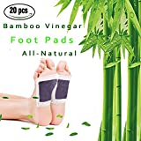 #8: Foot Pads, 20 Pcs Foot Care Relaxing Sheet For Foot Health 2018 New Upgraded 2 in 1