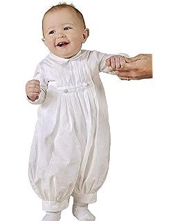 White Short Rompers Baby Toddler Boys Christening Baptism Church 0-30M 4: 18-24 months