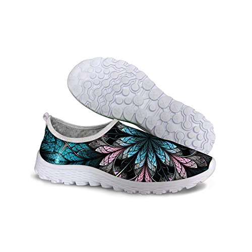 Multi Running For Floral Sneaker Womens Mesh U Breathable Shoes Designs Vintage wU4vTU