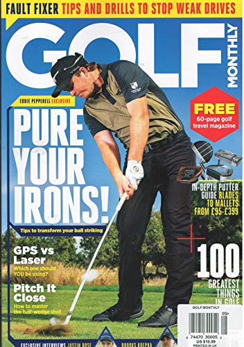 Golf Monthly Magazine - Golf Monthly Magazine May 2019