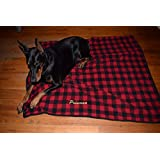 Embroidered Dog Blanket Personalized Dog Blanket Bedding for Dogs Blanket Bed for Dogs