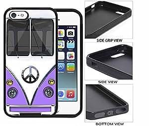 Liliac Minivan iPhone 5 5s Rubber Case