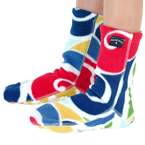 Polar Feet Kids' Socks Nonskid Curlz S by Polar Feet (Image #1)