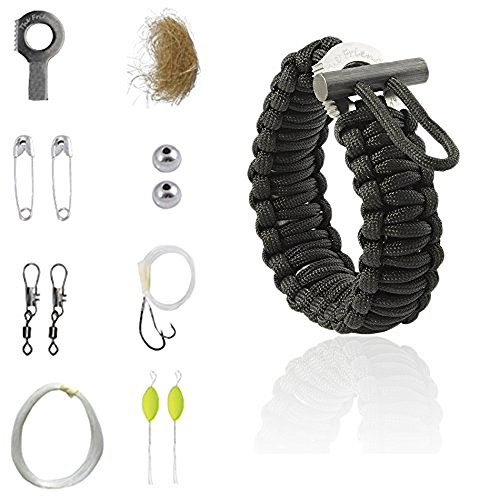 The Friendly Swede Multifunktions Paracord Survival-Armband - ideales Survival-Kit
