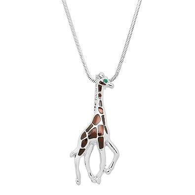 Amazon lola bella gifts giraffe pendant necklace with gift box lola bella gifts giraffe pendant necklace with gift box aloadofball Image collections