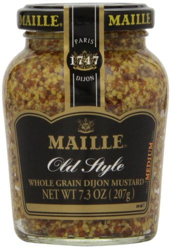 Maille Old Style Whole Grain Dijon Mustard, 7.3 (Style Whole Grain)