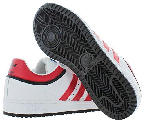 Adidas Originals Top Tien Lo Mens Basketbalschoenen Running Wit Ftw / Black-light Scarlet