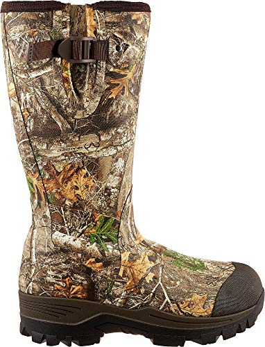 Field & Stream Men's Swamptracker 1000g RTE Rubber Hunting Boots (Realtree Edge, 11 D(M) US)