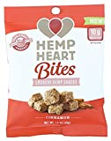 Manitoba Harvest Hemp Heart Bites, Cinnamon, 1.6oz (Pack of 12); Non-GMO Verified with 10g of Protein & Omegas per Serving