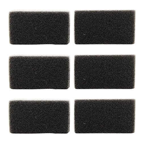 6 Replacement Reusable CPAP Foam Filters for Respironics PR System One REMstar BiPAP Pro with Bi-Flex by UpStart Components
