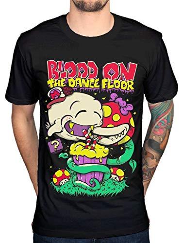 HUANGHOUSTORE Men's Blood On The Dance Floor T-Shirt Music Duo Group Electropop Mario