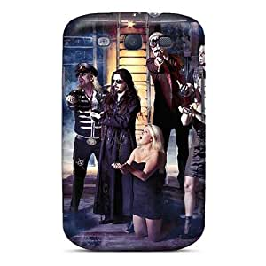 Samsung Galaxy S3 CCL9211SVhB Allow Personal Design Colorful Metallica Series Anti-Scratch Cell-phone Hard Covers -Marycase88