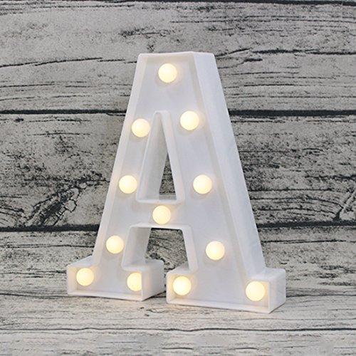 Led Alphabet Lights - 4