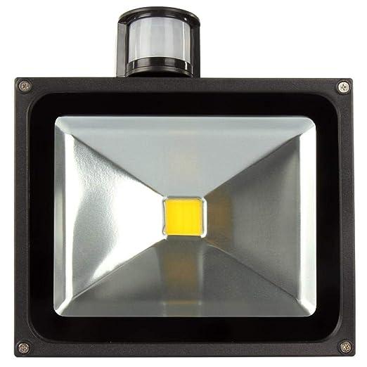 PIR Sensor Proyector LED 10W 20W 30W 50W Proyector de iluminación ...