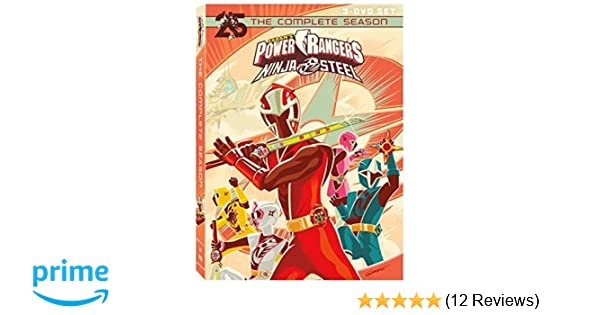 Amazon.com: Pwr Rgrs Ninja Steel: Cmpl Ssn: Artist Not ...