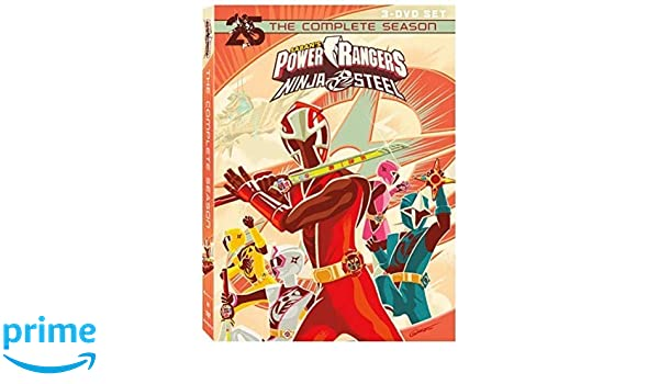 Power Rangers Ninja Steel: Complete Season 3 Dvd Edizione ...
