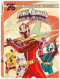 Power Rangers Ninja Steel: Complete Season 3 Dvd Edizione ...
