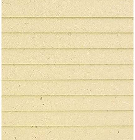 Dollhouse Miniature MDF 3//8 Inch Lap Siding