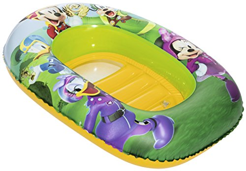 Mickey Mouse Clubhouse Kiddie Raft - Mickey & Minnie Inflatable Boat (Inflatable Clubhouse)