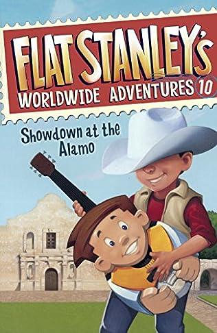 book cover of Showdown at the Alamo
