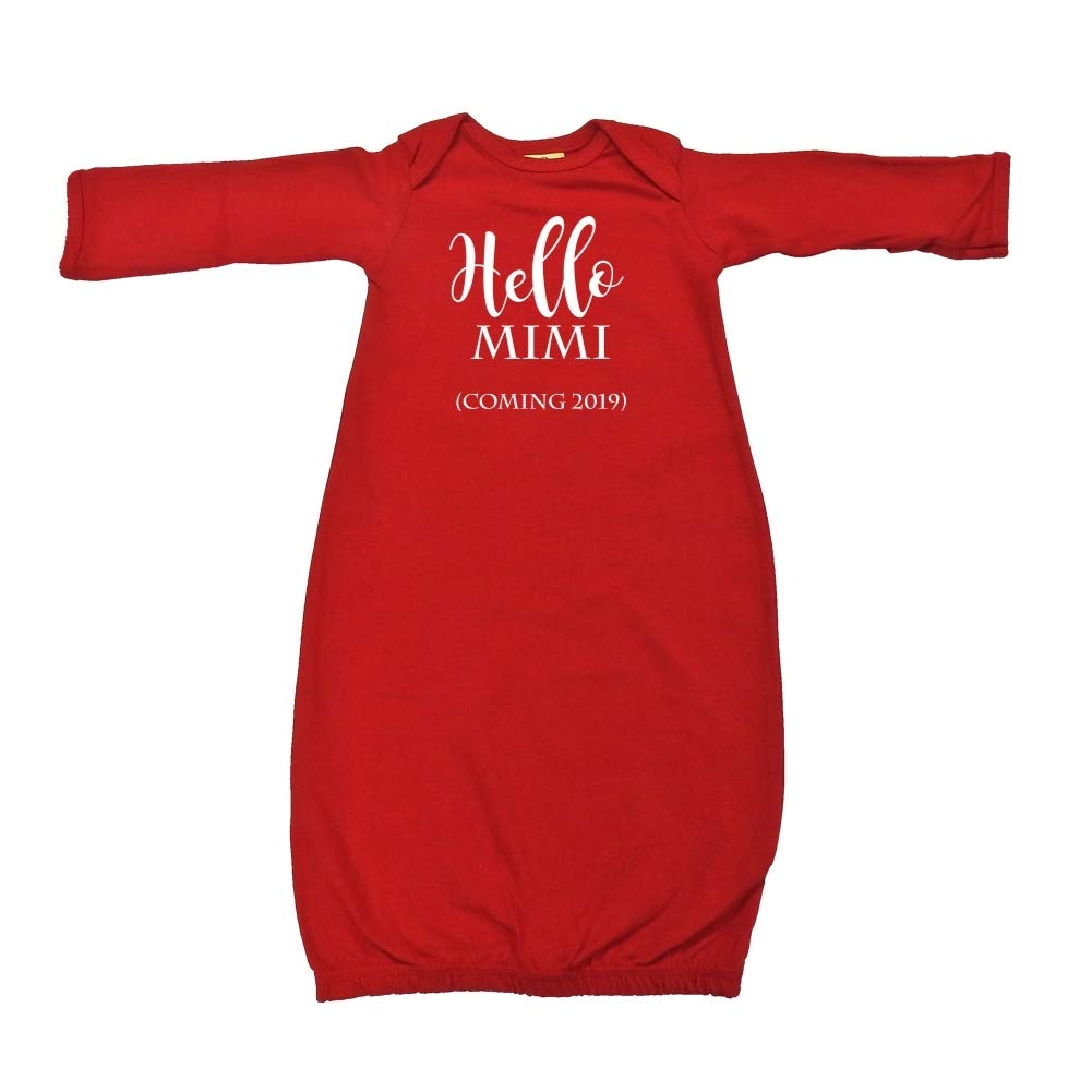 Announcement Hello Mimi Baby Cotton Sleeper Gown Coming 2019