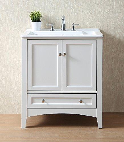 Stufurhome GM-Y01W 30.5-Inch Pure White Single Laundry Sink by Stufurhome (Image #3)